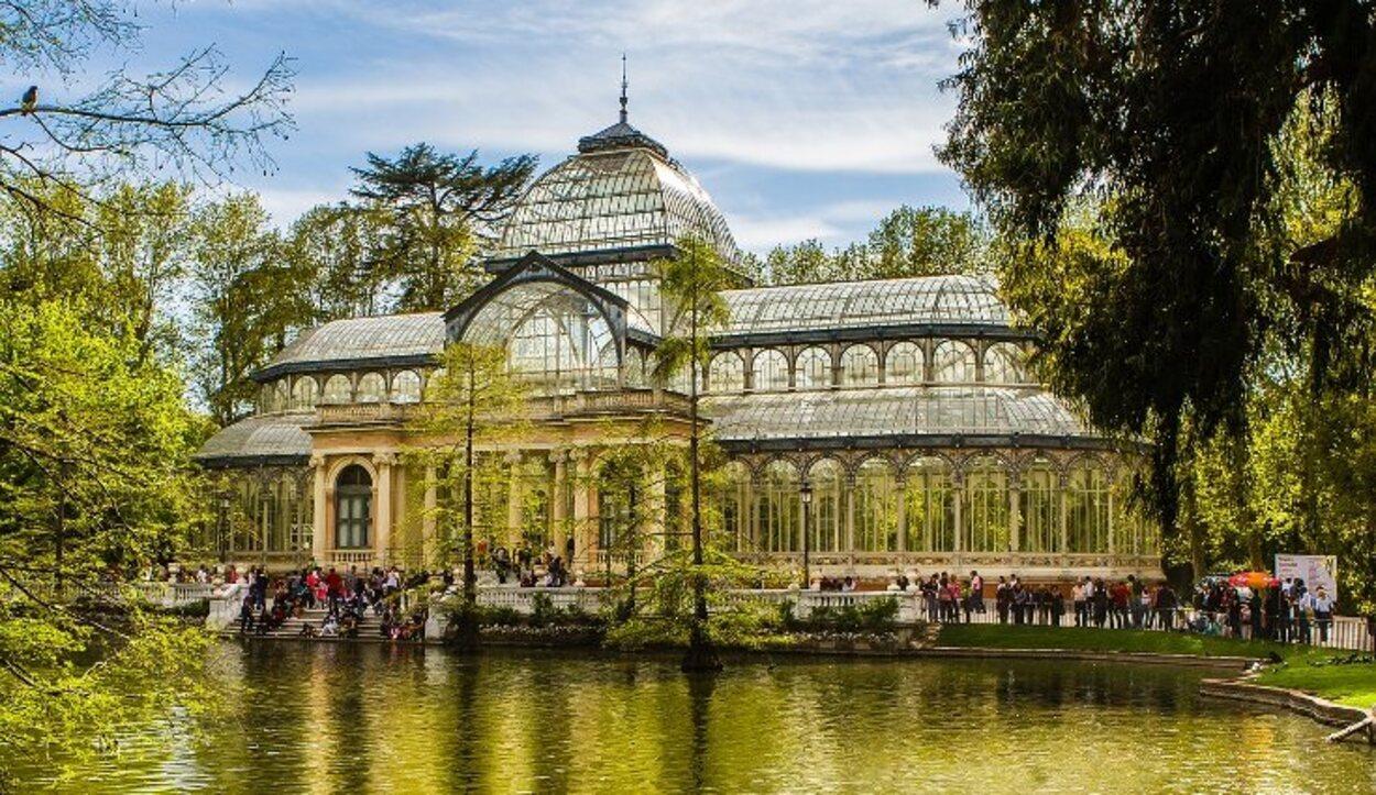 Palacio de Cristal, uno de los recursos culturales del Parque de El Retiro