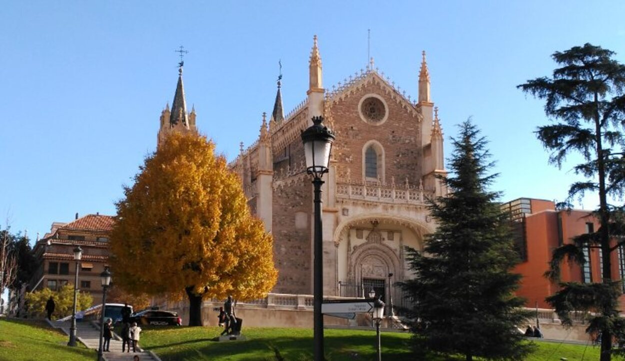 Iglesia de Los Jerónimos, pieza clave e histórica del Prado-Retiro