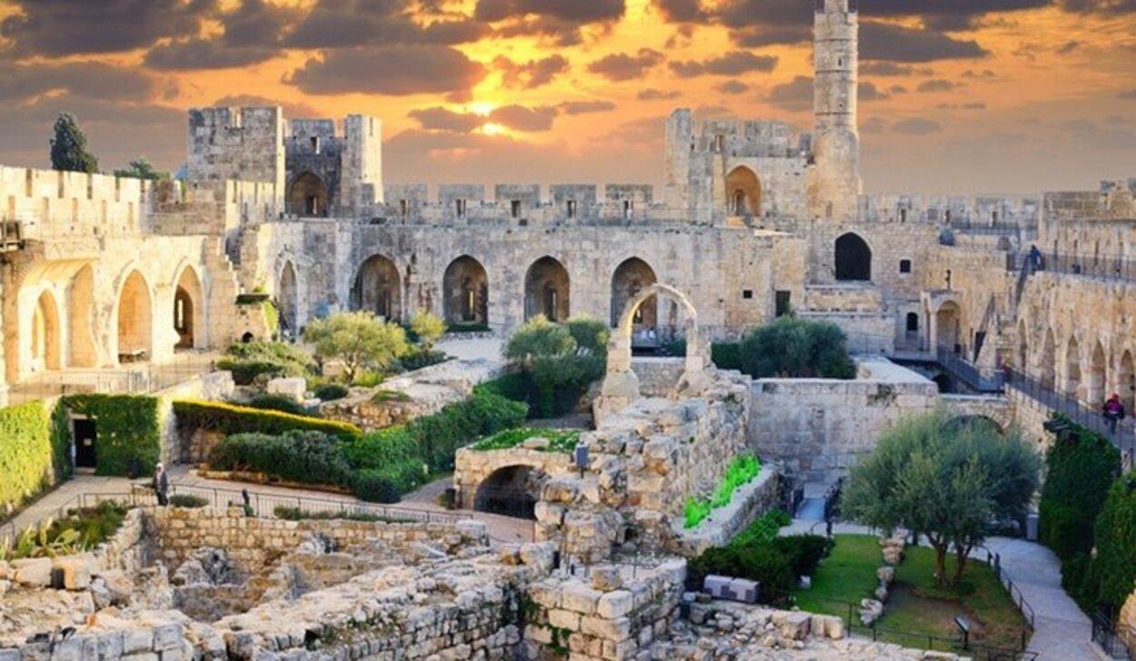 Jerusalén es uno de los lugares con mayor encanto