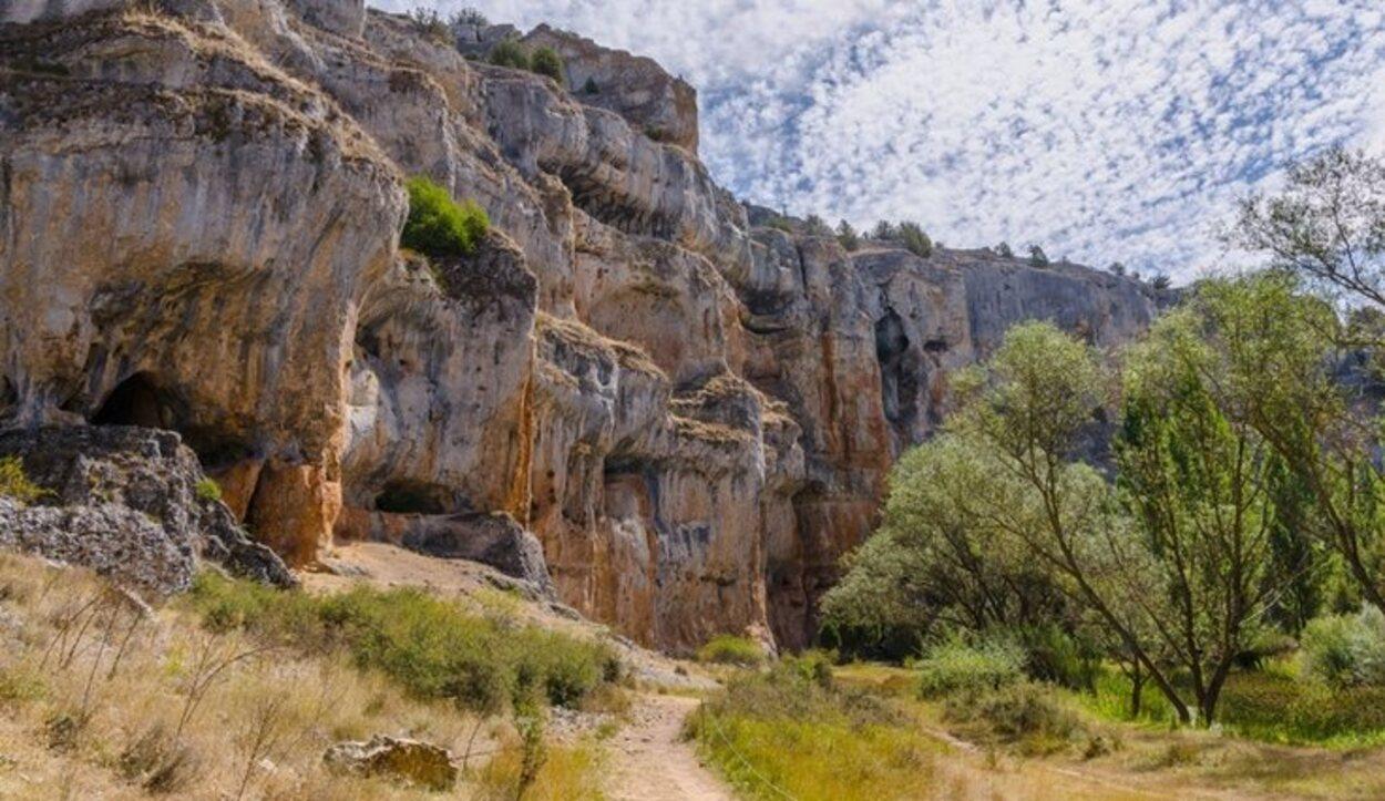 El Parque Natural del Cañón del Río Lobos es un paisaje kárstico