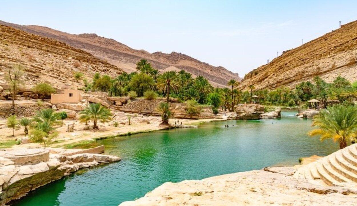 Omán tiene un increíble paisaje entre desiertos y oasis