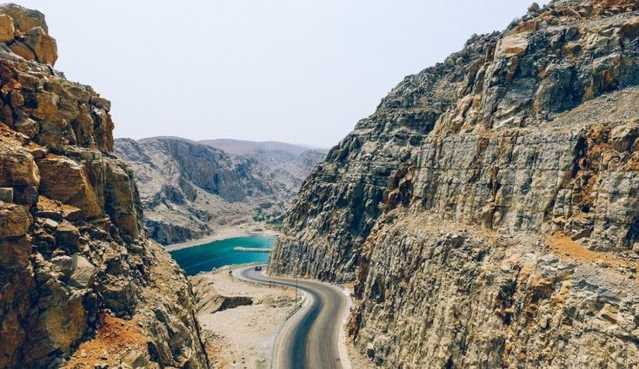 Musadam se encuentra en el norte de Omán