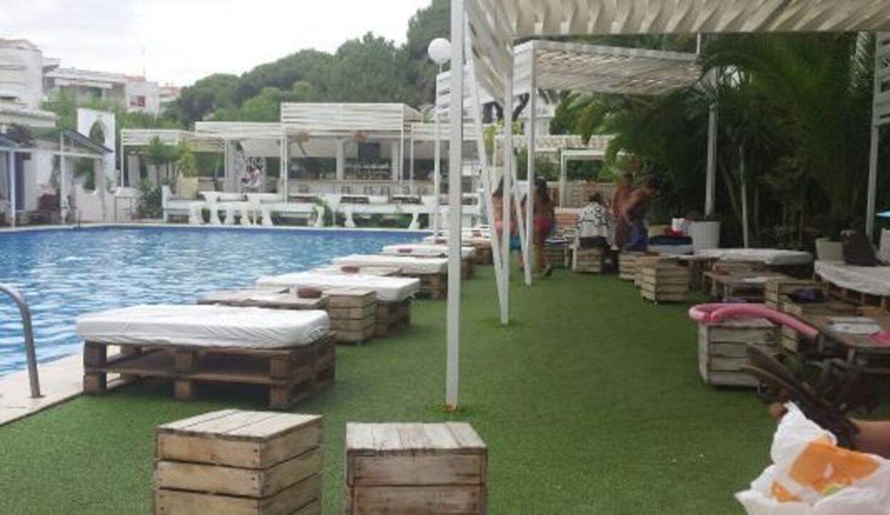 La piscina de Agua de Coco siempre es una buena opción después de la playa