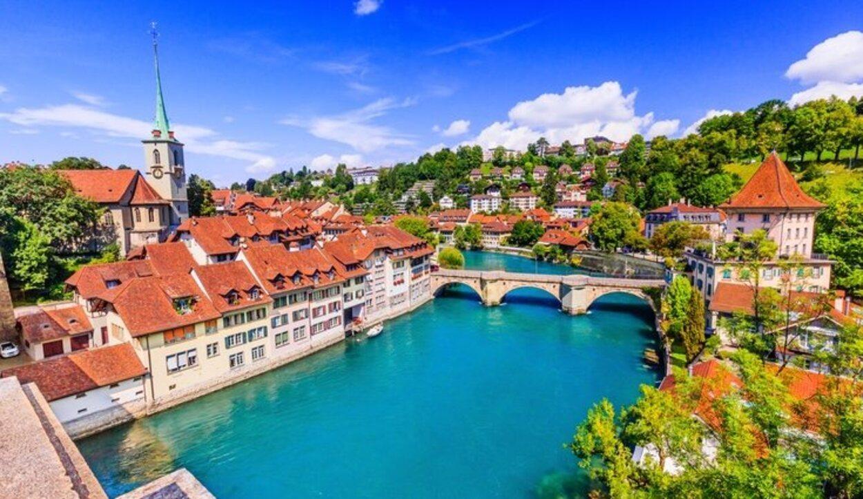Berna, capital de Suiza, está bañada por el río Aere