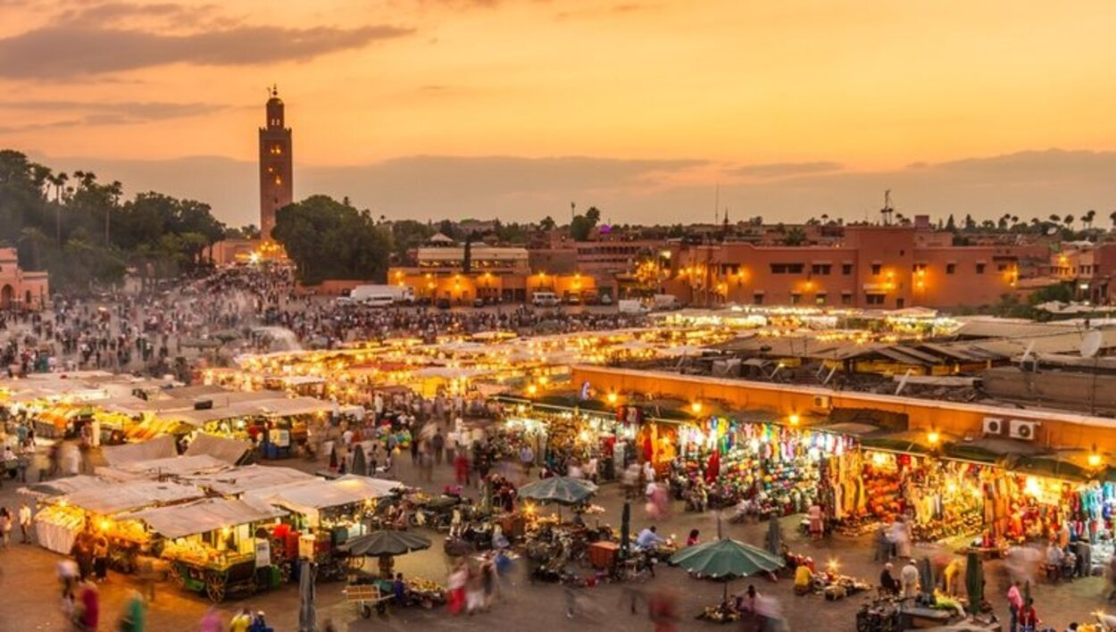 Plaza Jamma el Fna, Marrakech