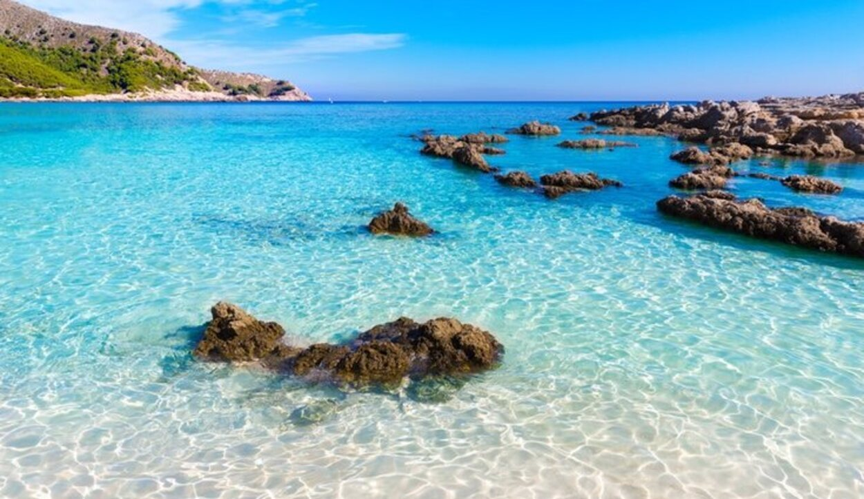 Playa Agulla, Mallorca, Islas Baleares