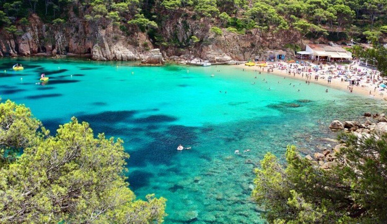 Playa de Aiguablava, Begur, Girona