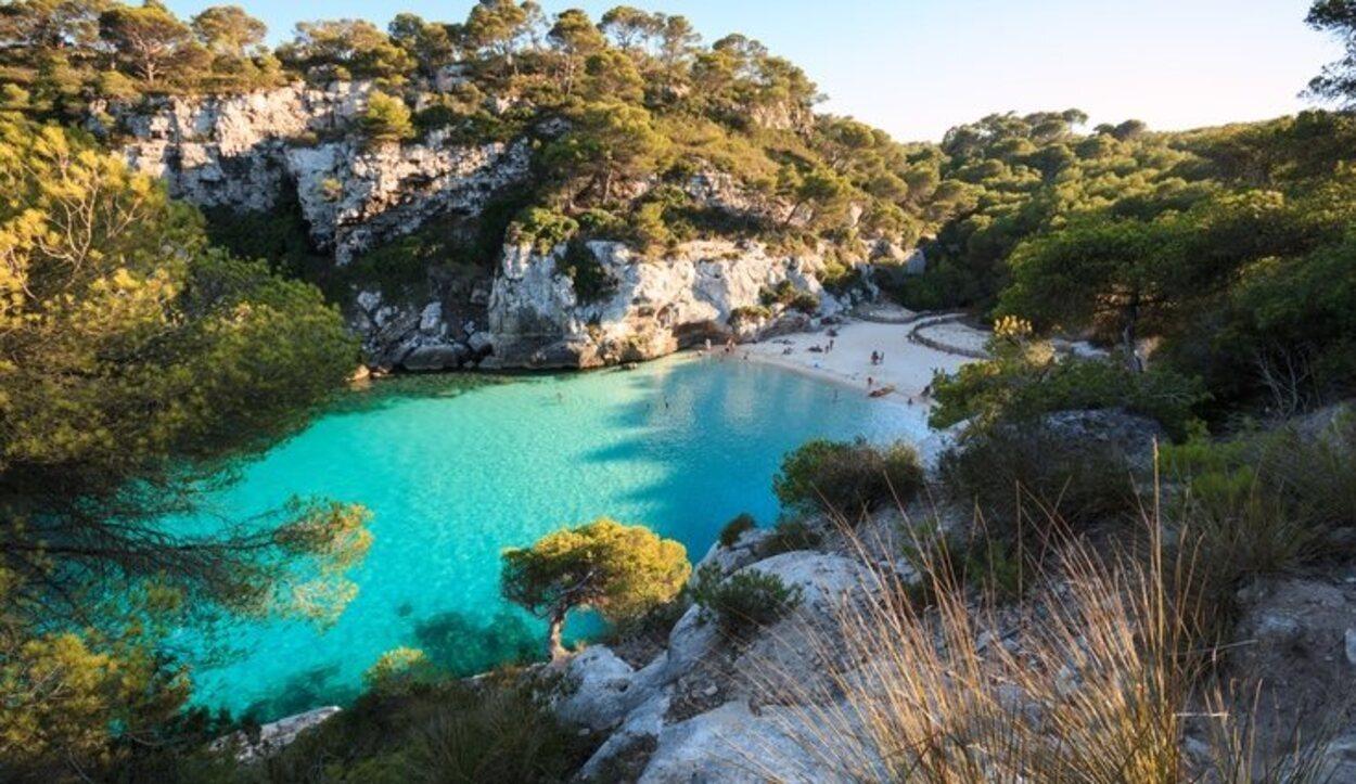 Cala de Macarelleta, Menorca, Islas Baleares