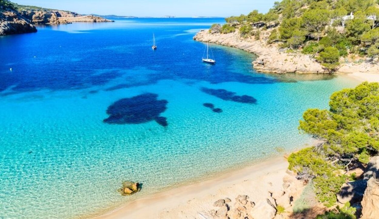 Cala Salada, Ibiza, Islas Baleares