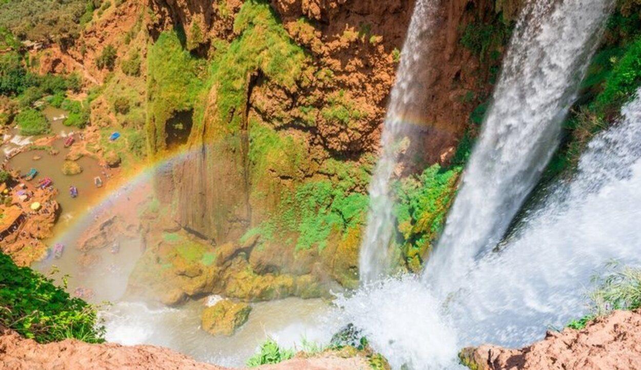 Cascadas de Ouzoud, Gran Atlas, Marruecos