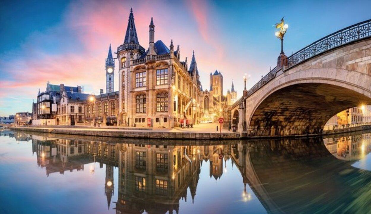 Canal de Gante, Bélgica