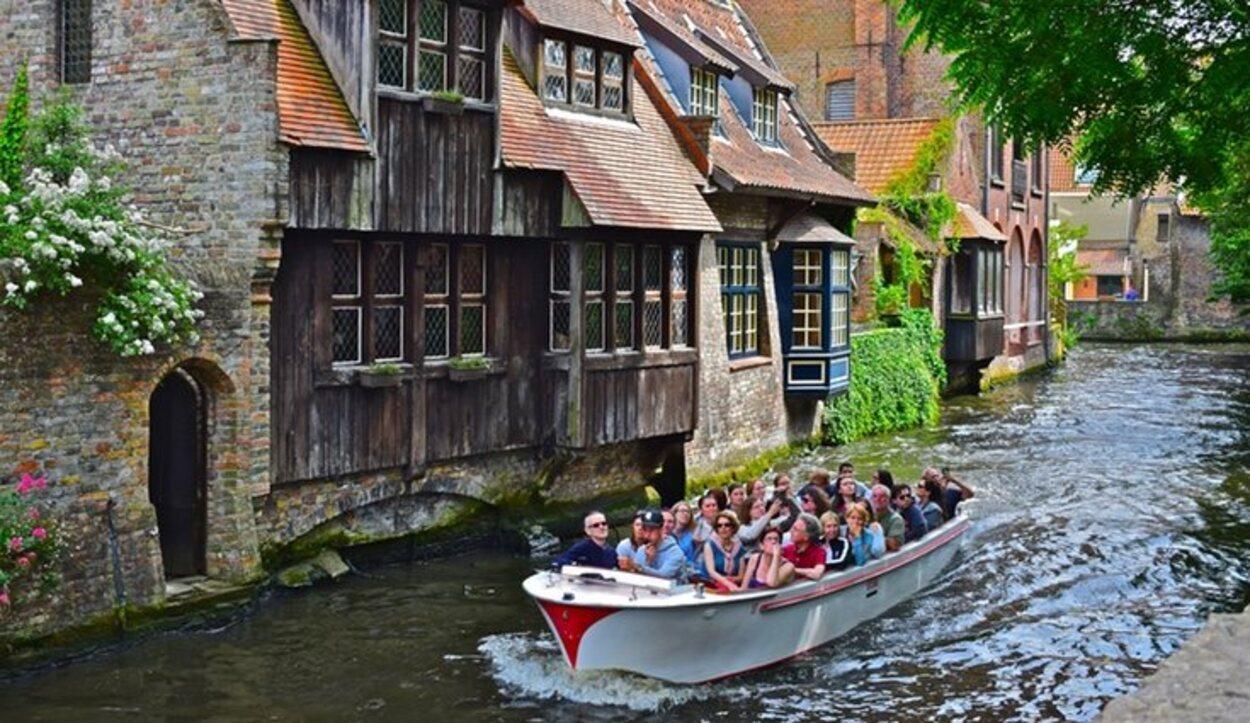 Visita turística en Brujas