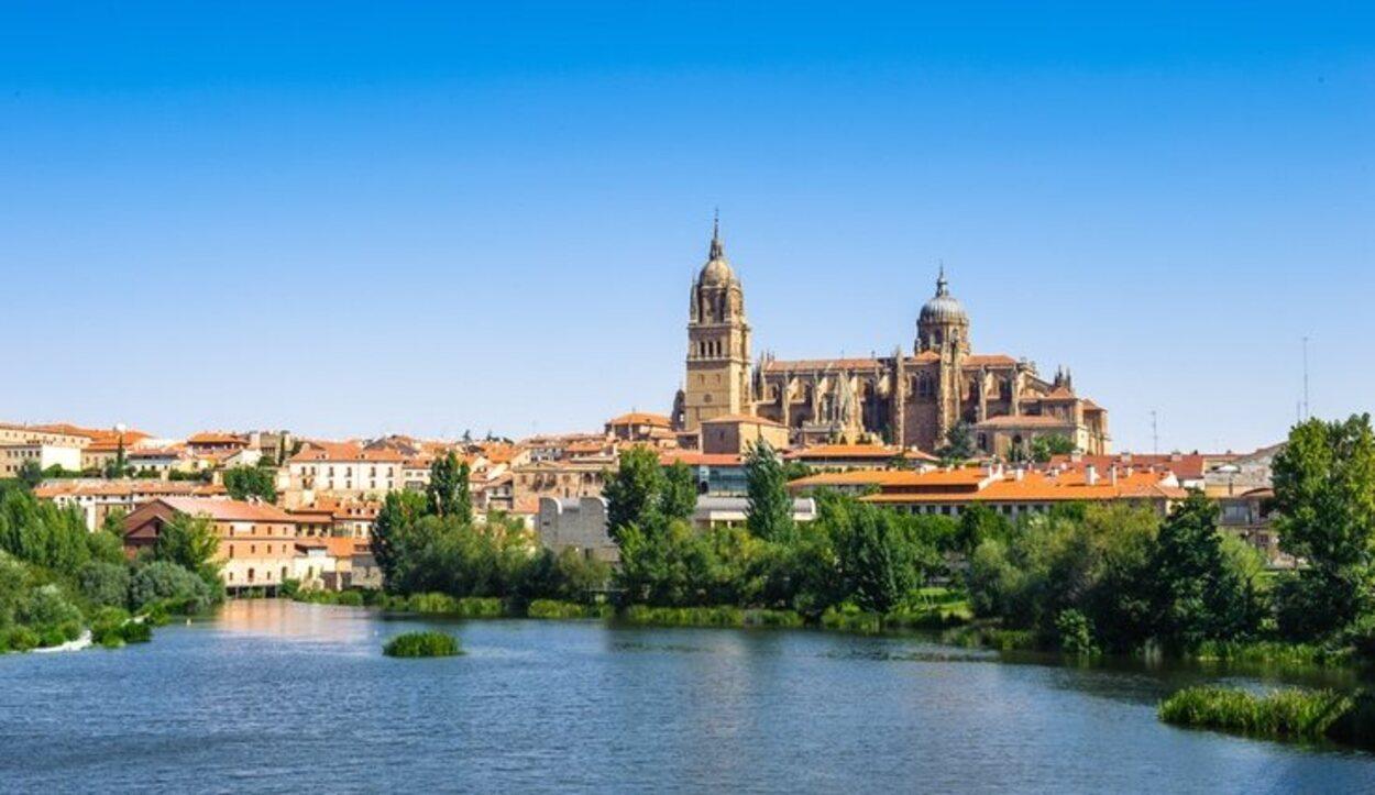Salamanca es la ciudad del río Tormes