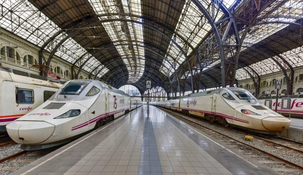 Estación de tren de Barcelona