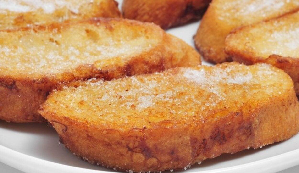 Las torrijas son uno de los platos más habituales en Semana Santa