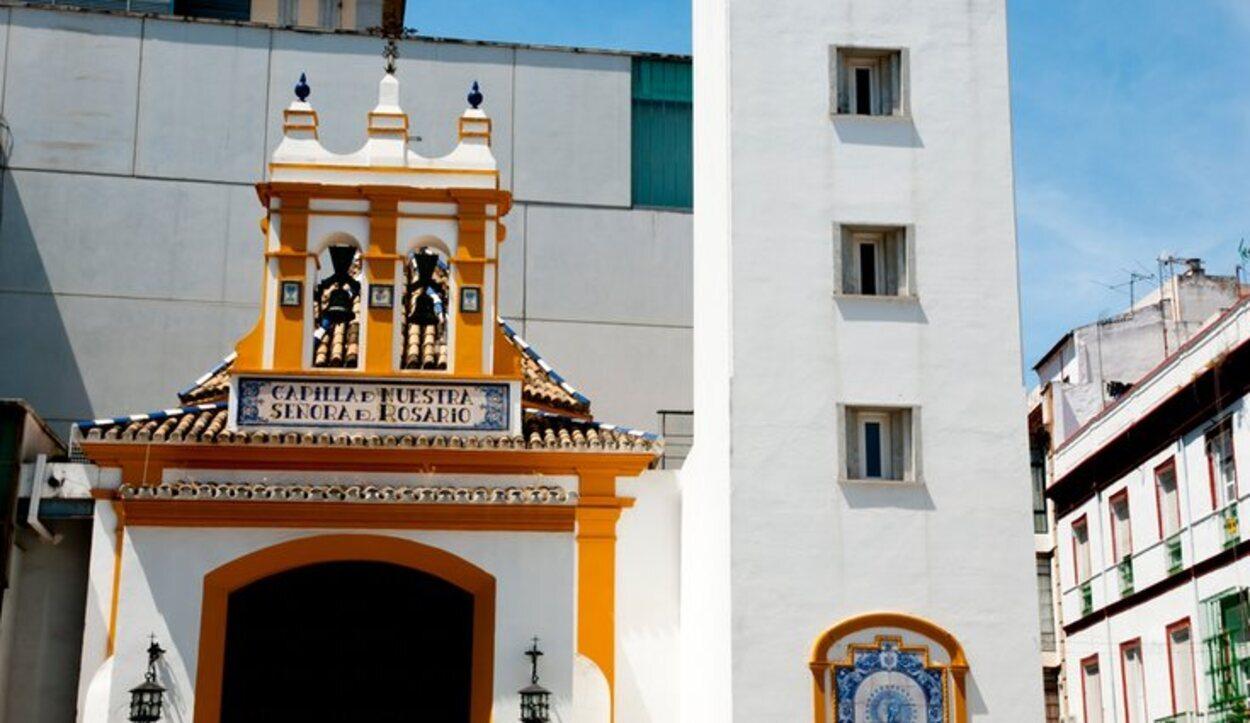La Capilla del Rosario es el lugar de inicio de la cofradía de Las Aguas