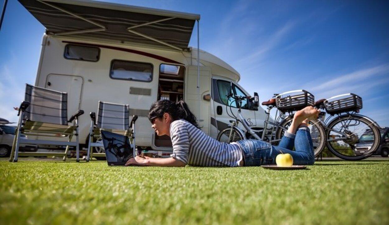 La caravana es el lugar donde se podrá hacer vida en las vacaciones