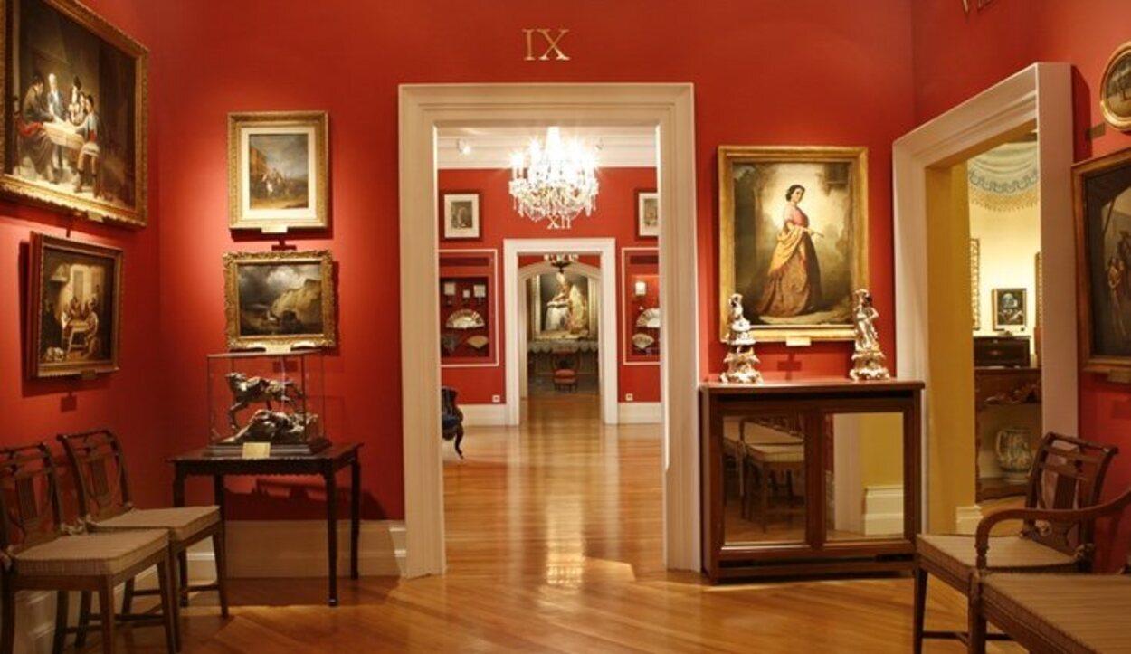 Retratos, paisajes y escenas de corte costumbrista son las principales pinturas que decoran el Museo del Romaticismo | Foto: Ministerio de Cultura y Deporte
