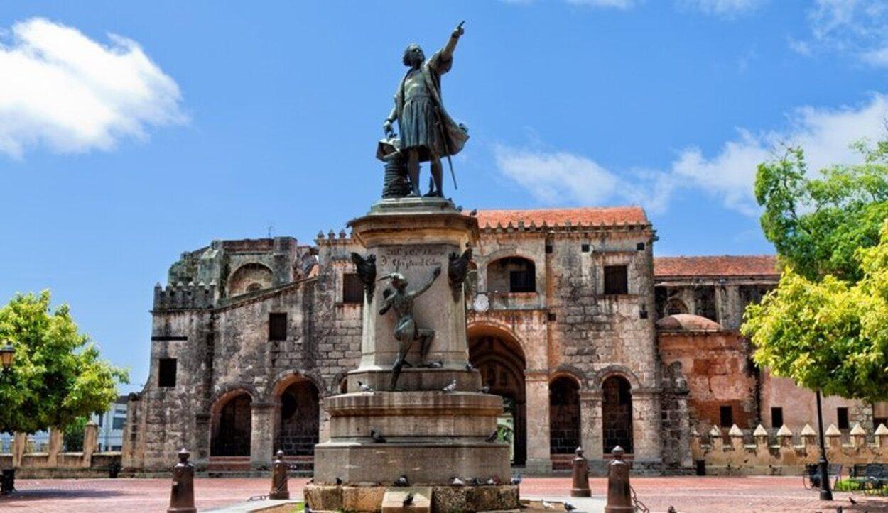 Plaza de Colón en Santo Domingo