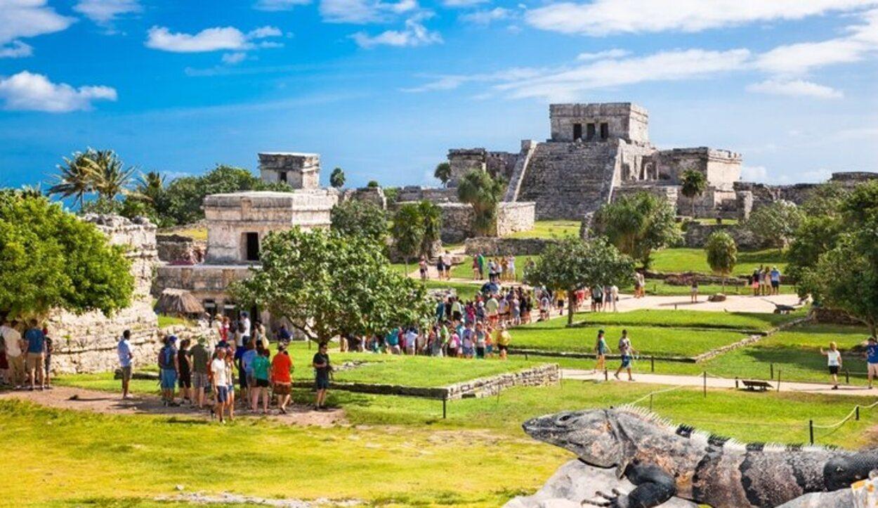 Las ruinas mayas de Tulum son una visita obligada