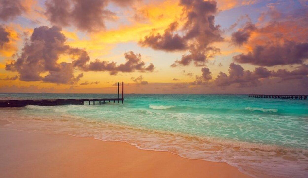 Playa Caracol, una de las playas más tranquilas de Cancún