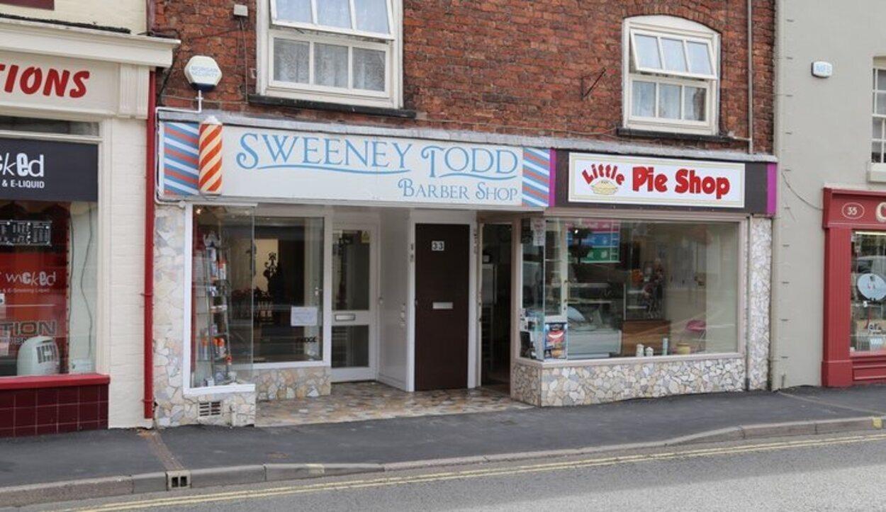 La tienda de Sweeney Todd, el famoso barbero asesino de Londres