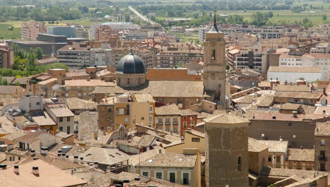 Vista general de la ciudad de Huesca