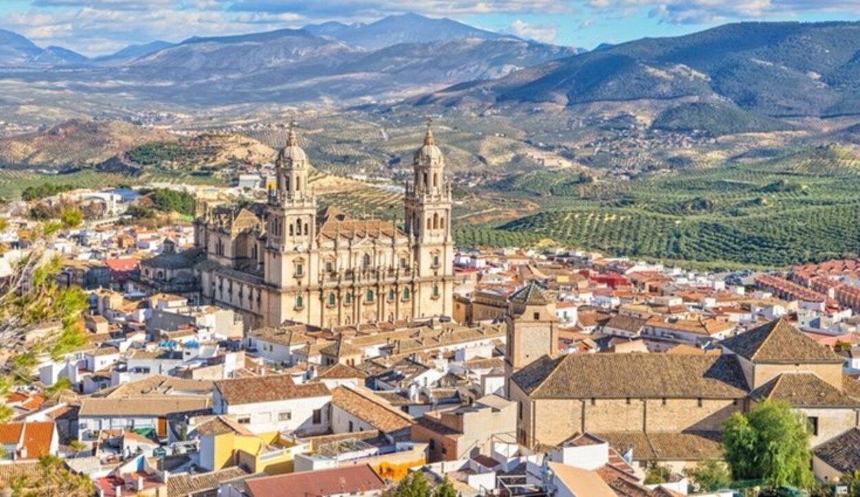 Vista aérea de Jaén