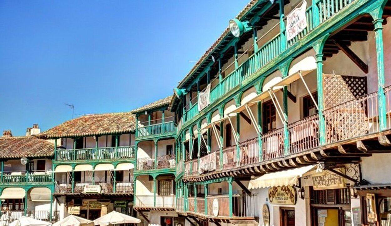 Casas de la Playa Mayor de Chinchón