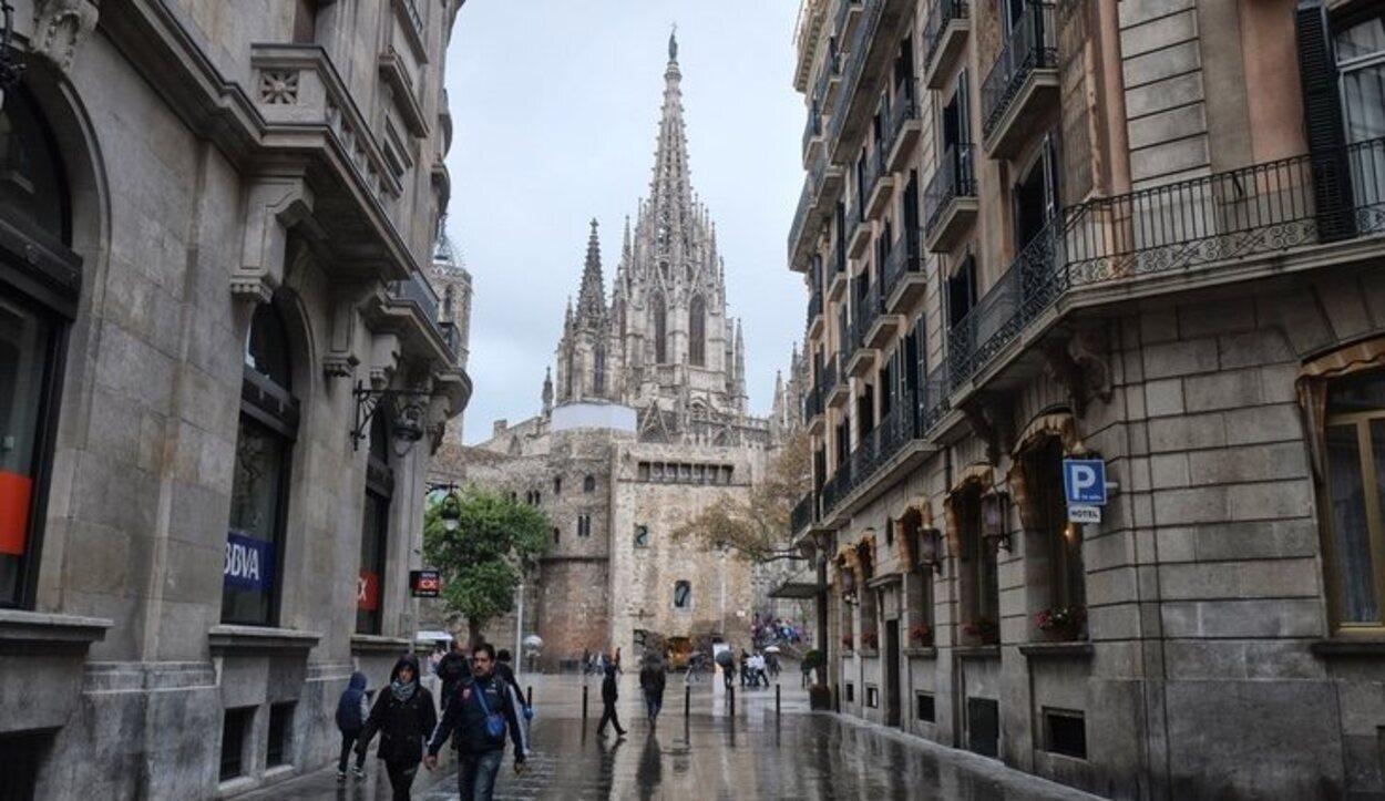 El mes de octubre es el más lluvioso de todos en Barcelona