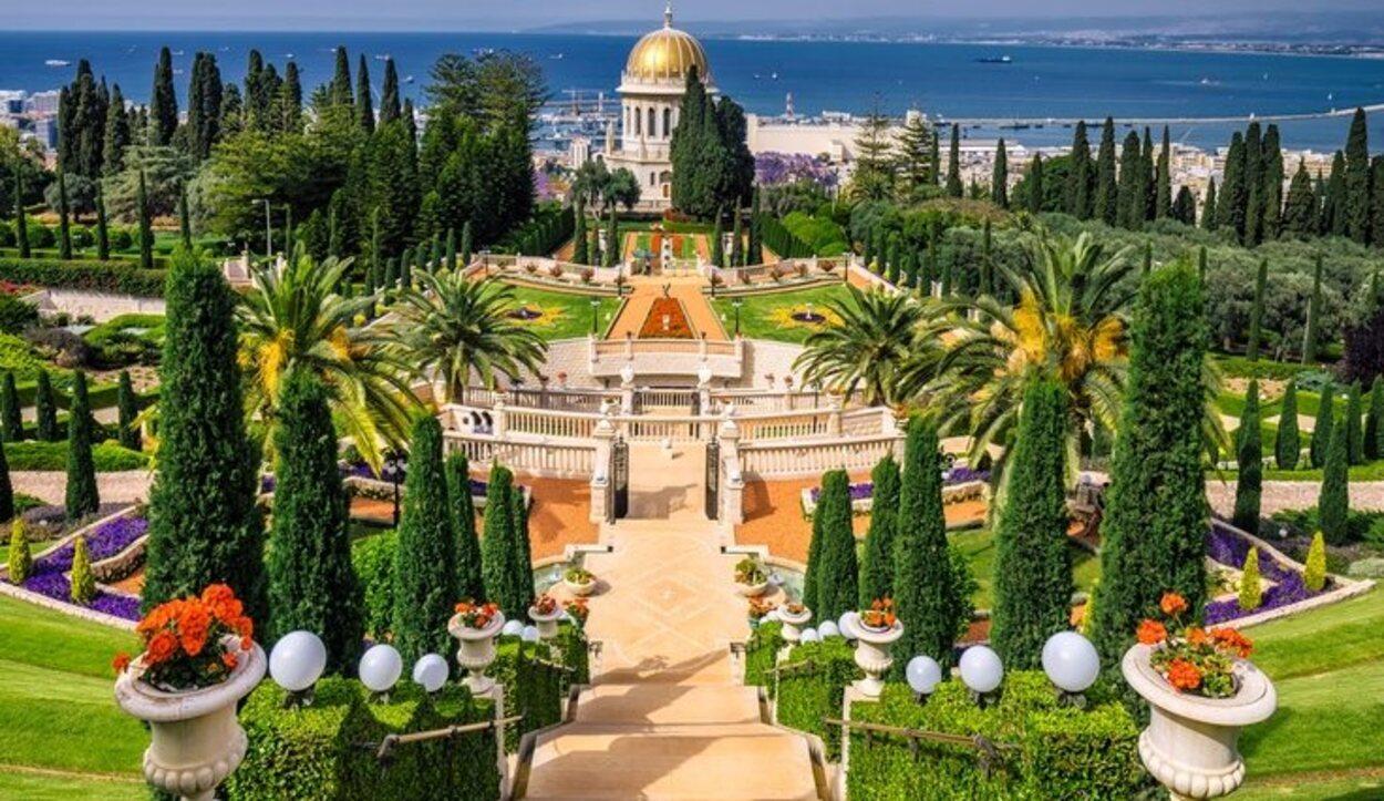 Jardines Bahaí, Haifa