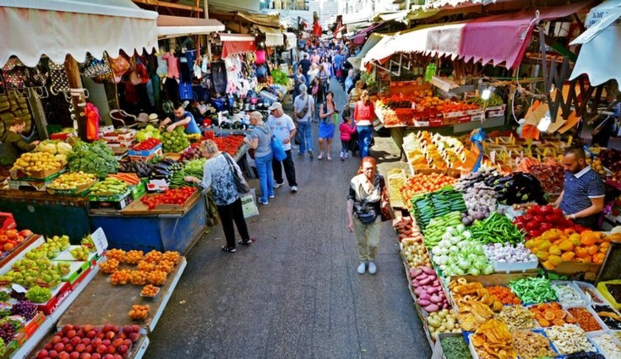 Mercado de Carmelo, Tel Aviv
