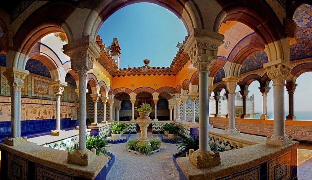 Interior del Palau de Maricel