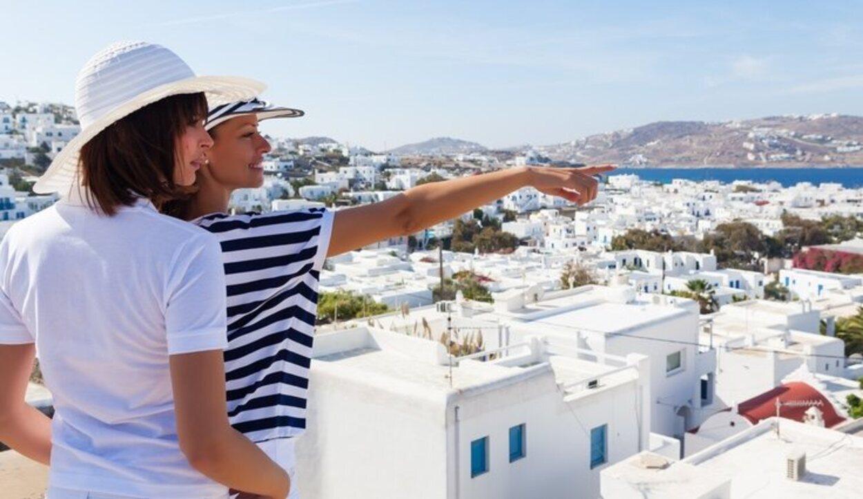 Mykonos, esla isla griega más animada de todas, y mejor valorada porel turismo homosexual