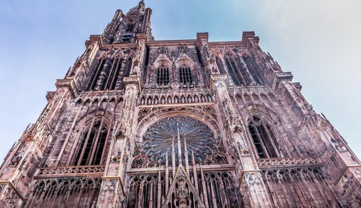 La Notre-Dame de Estrasburgo es una de las últimas catedrales góticas en construirse