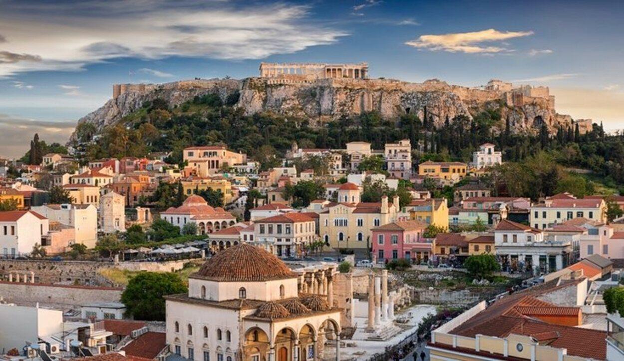 Atenas es una de las capitales europeas que mejor tiempo tiene