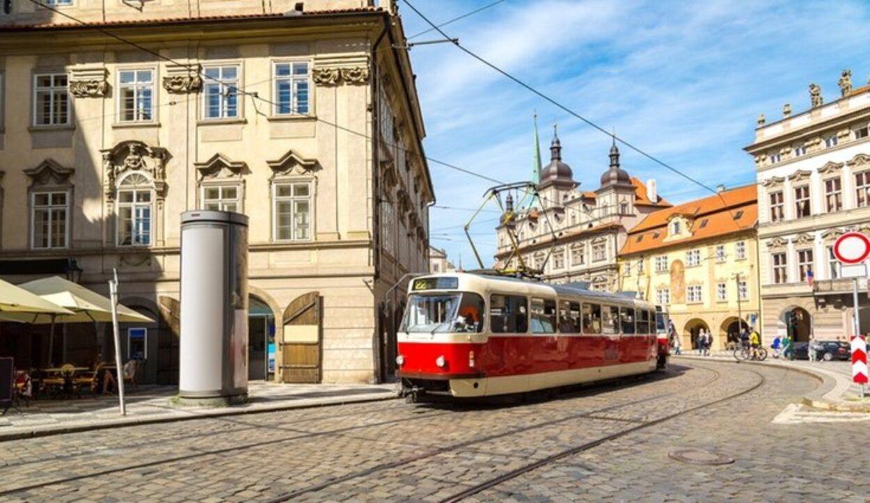 El transporte público es la opción más escogida para desplazarse por Praga
