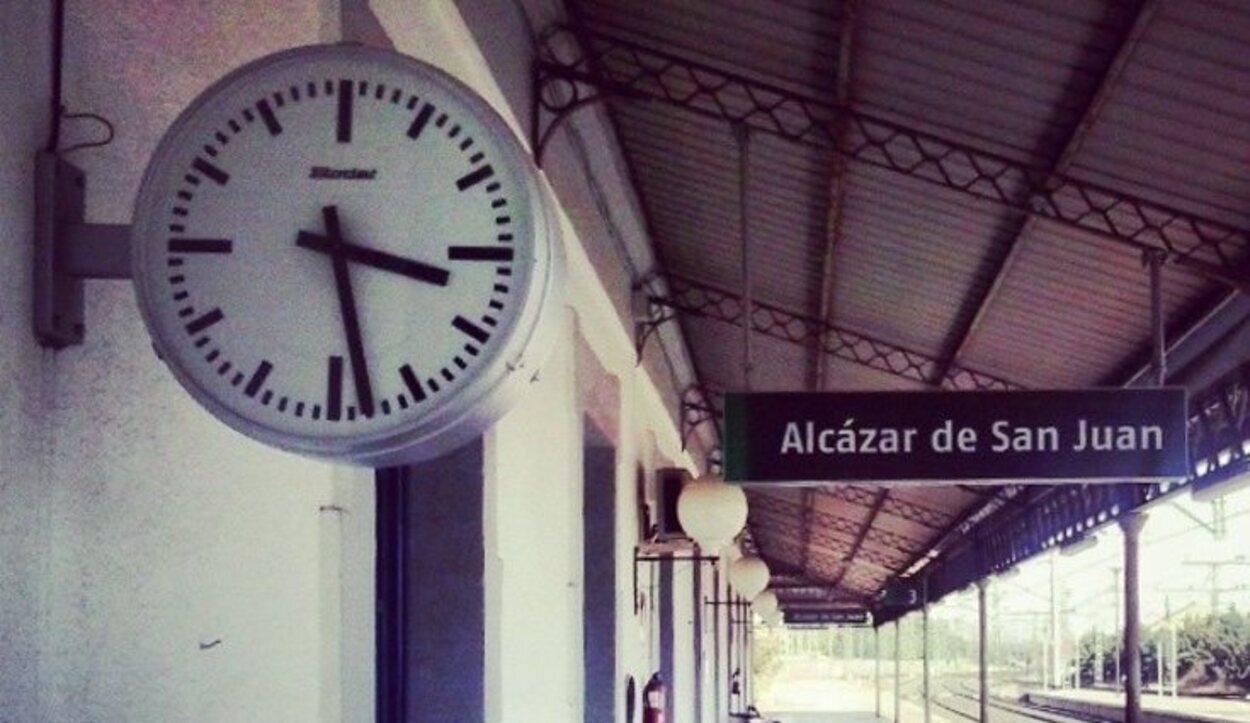 La Estación Ferroviaria de Alcázar de San Juan es y ha sido muy importante para la comarca