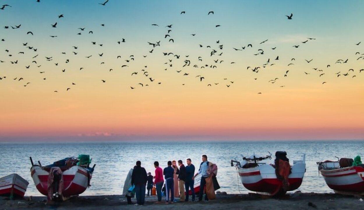 Pueblo pesquero Oued Laou