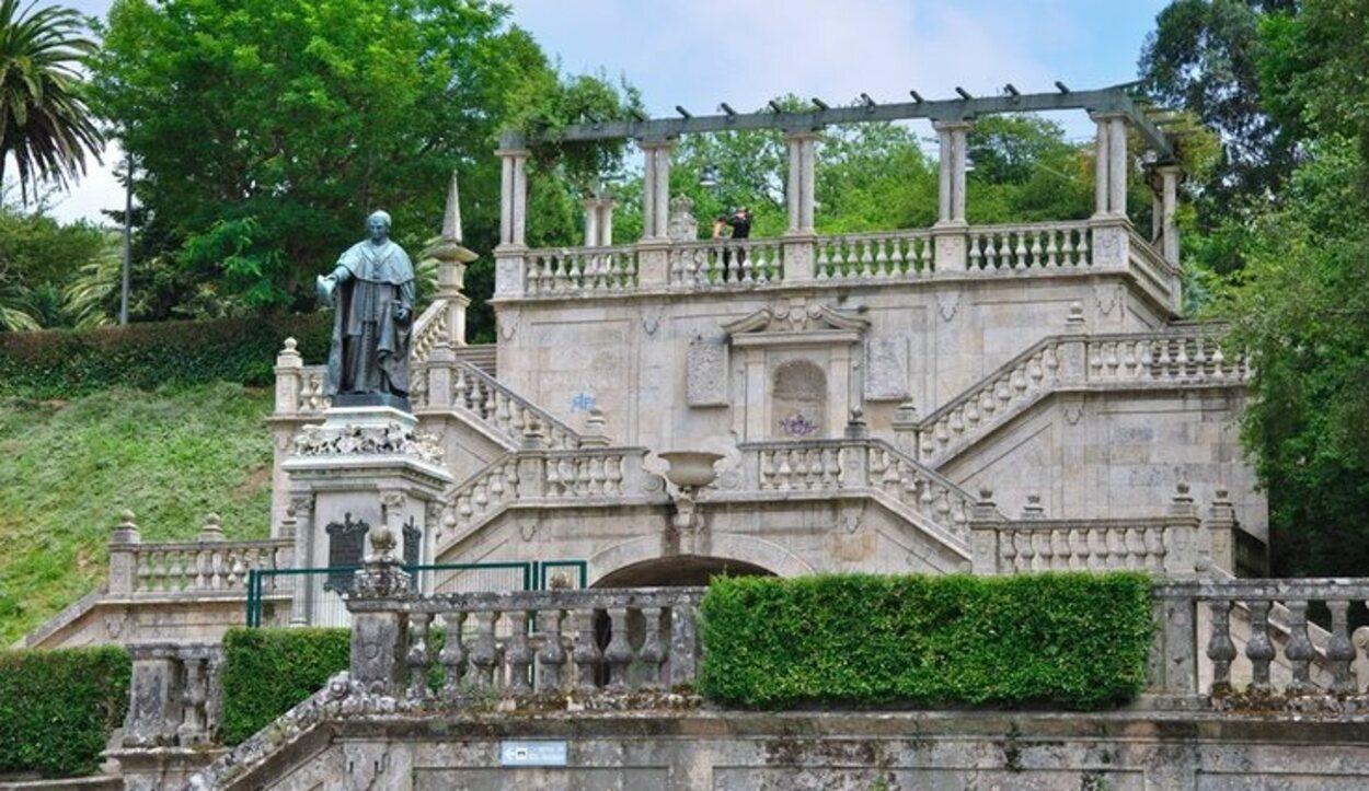 Parque la Alameda, Santiago de Compostela