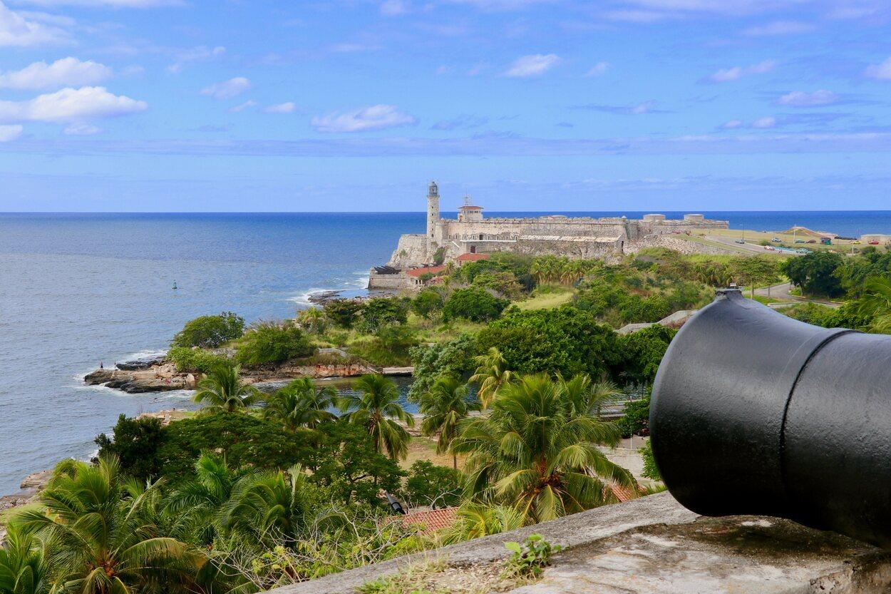 Vista del castillo de los Tres Reyes del Morro
