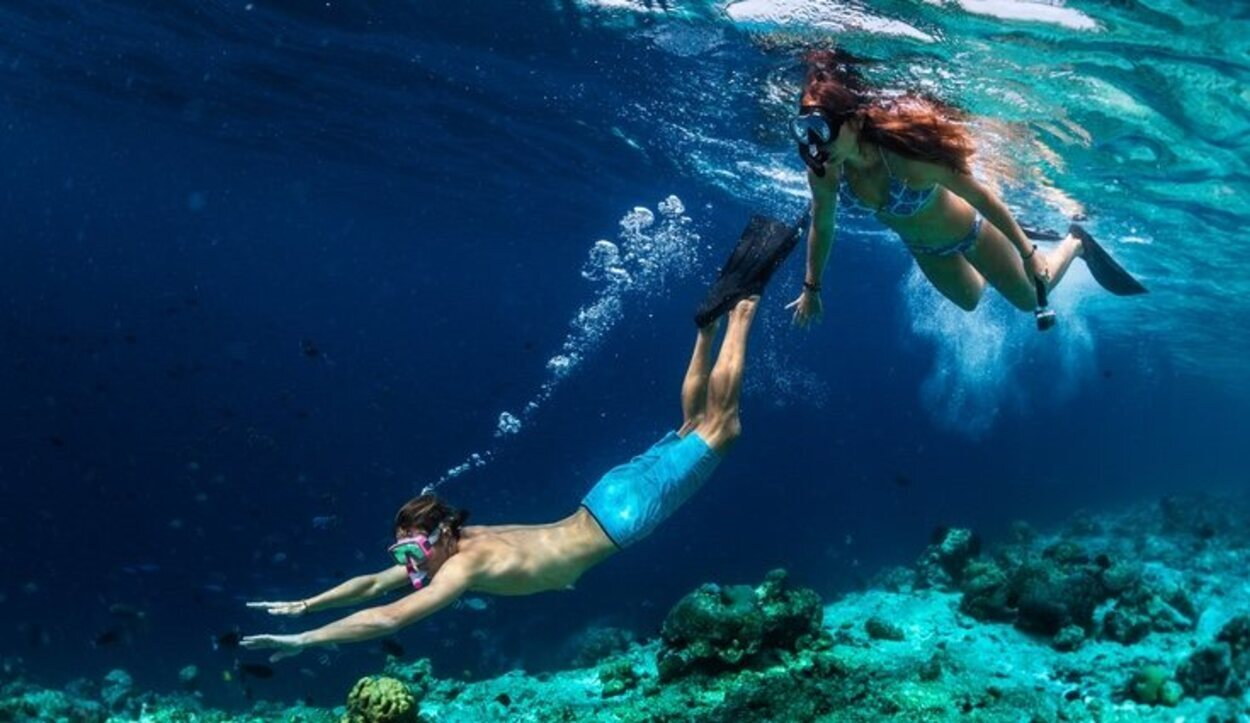 Para aquellas personas que van a practicar snorkel es recomendable llevárselas uno mismo, ya que allí son caras