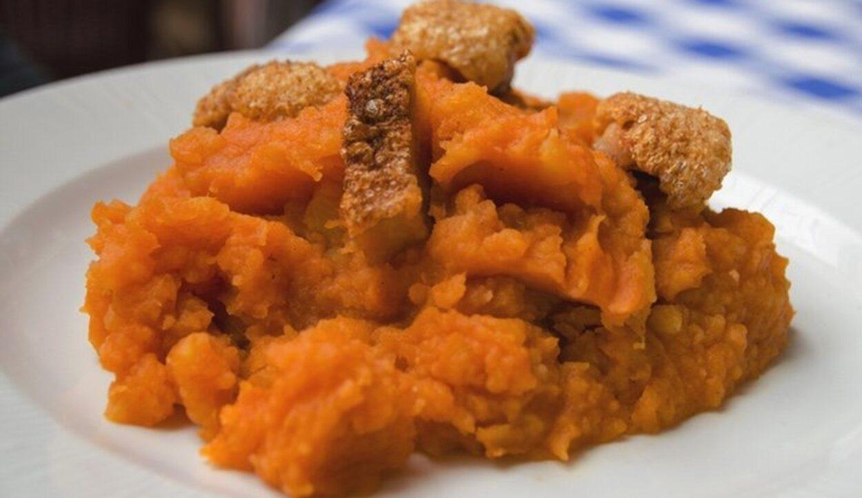 Las patatas revolconas son famosas en Castilla León