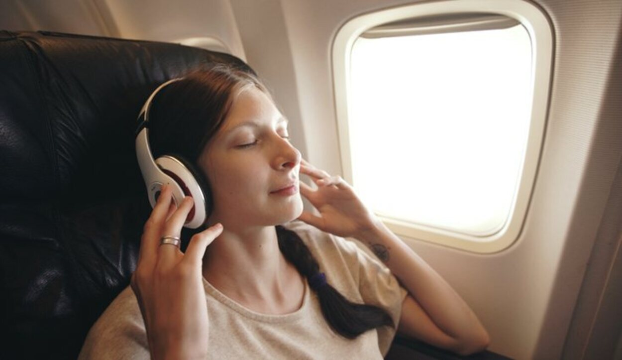 La música es un gran relajante para aquellos con miedo a volar