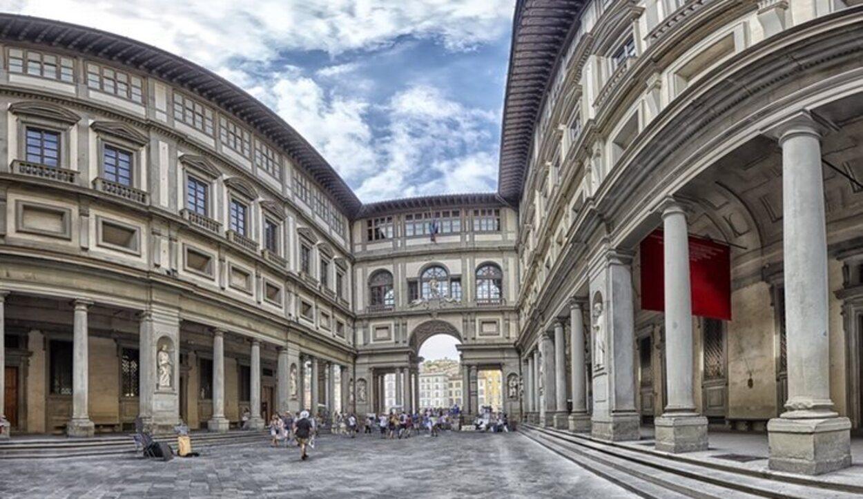 La Galería Uffizi está conformada por más de 80 salas