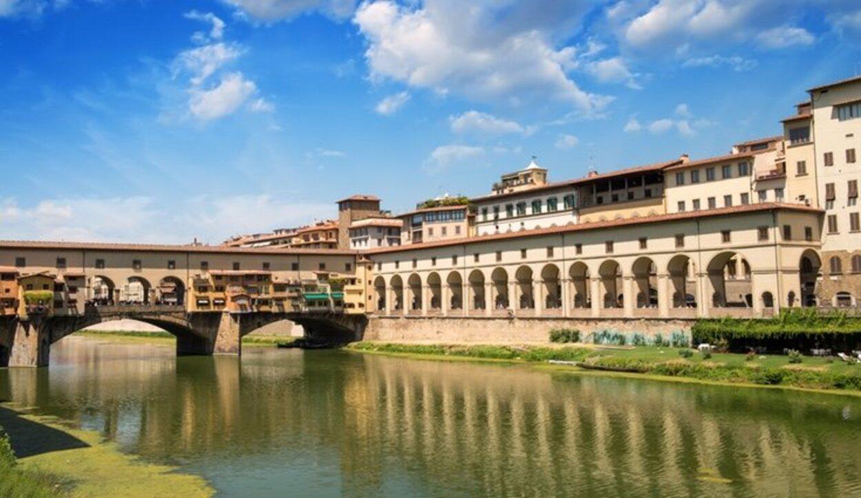 La Galería Uffizi se encuentra en el corazón de Florencia