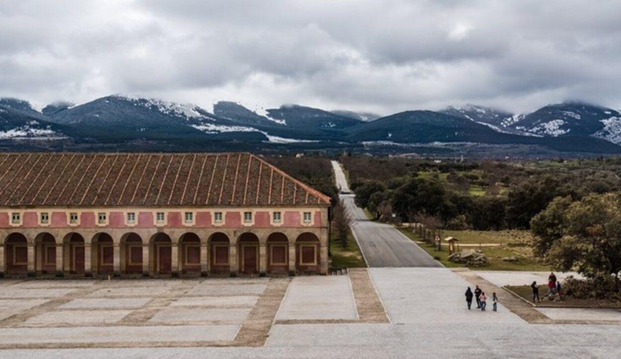 El Palacio de Riofrío está arropado por el Bosque de Riofrío