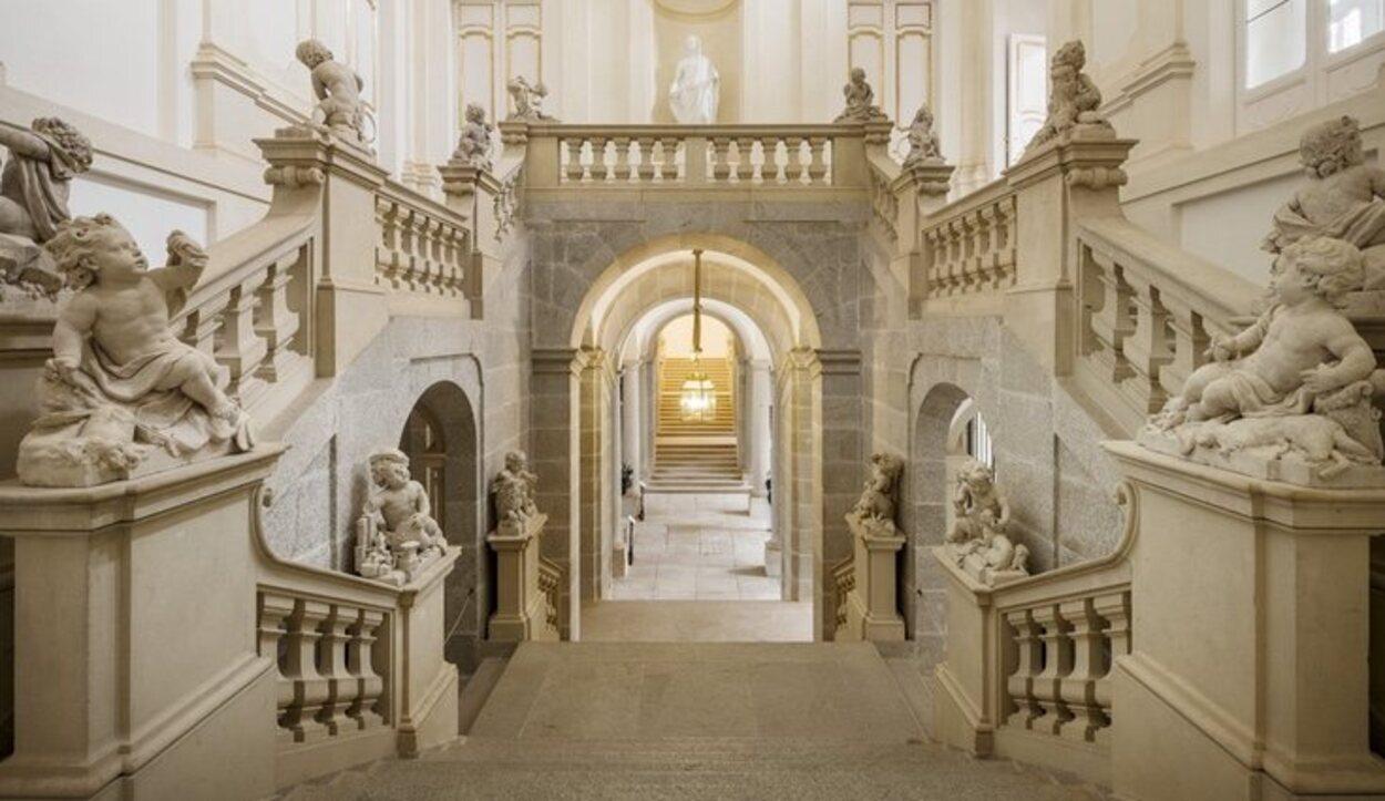 Durante el reinado de Isabel II cuando el Palacio Real de Riofrío se decoró por completo | Foto: patrimonionacional.es
