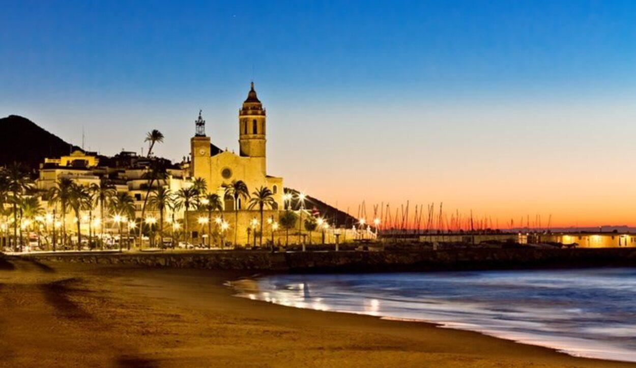 Uno de los municipios que más turistas recibe es Sitges