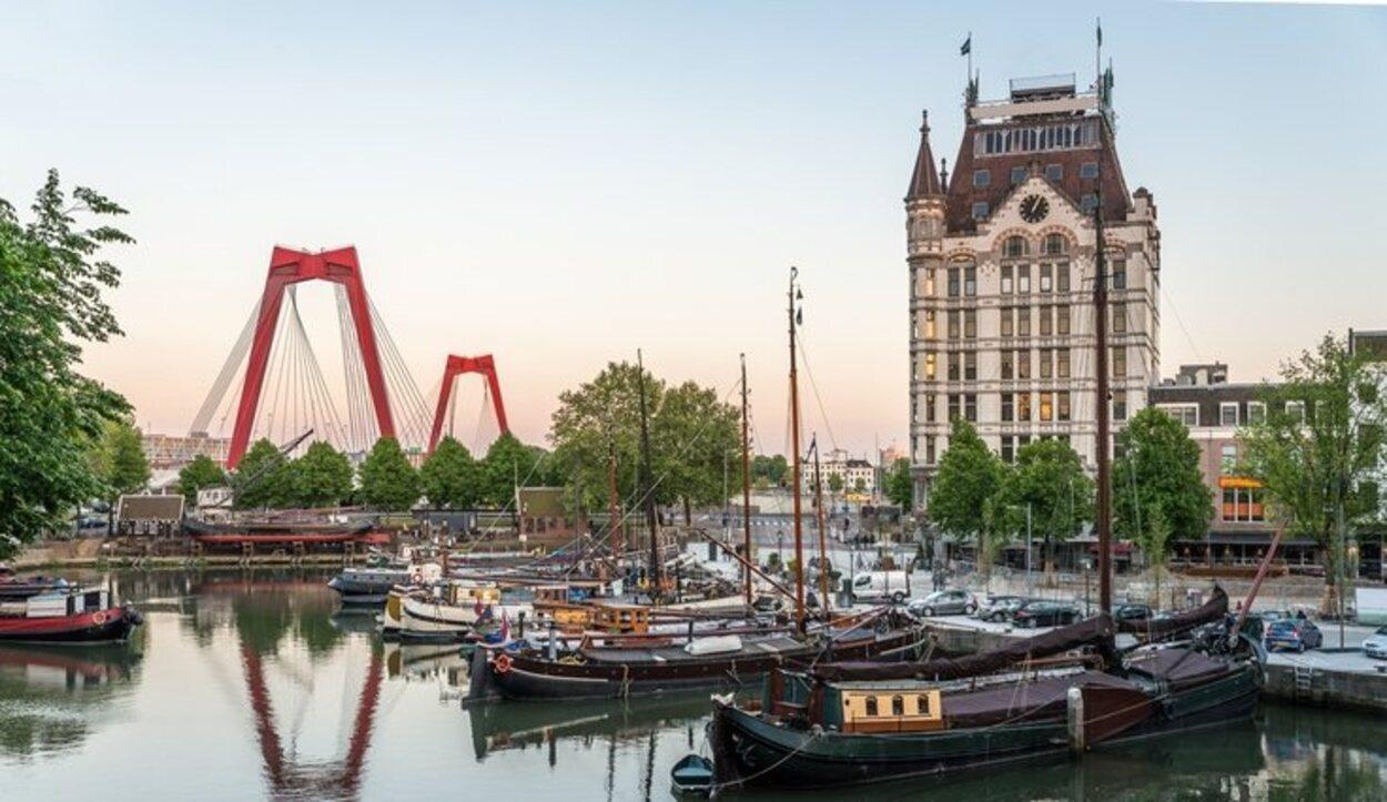 Rotterdam es la segunda ciudad más grande de Países Bajos